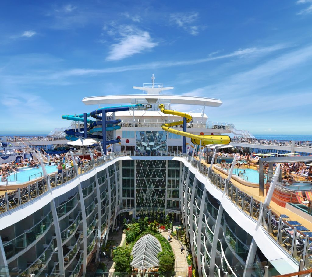 Harmony of the Seas Piscina